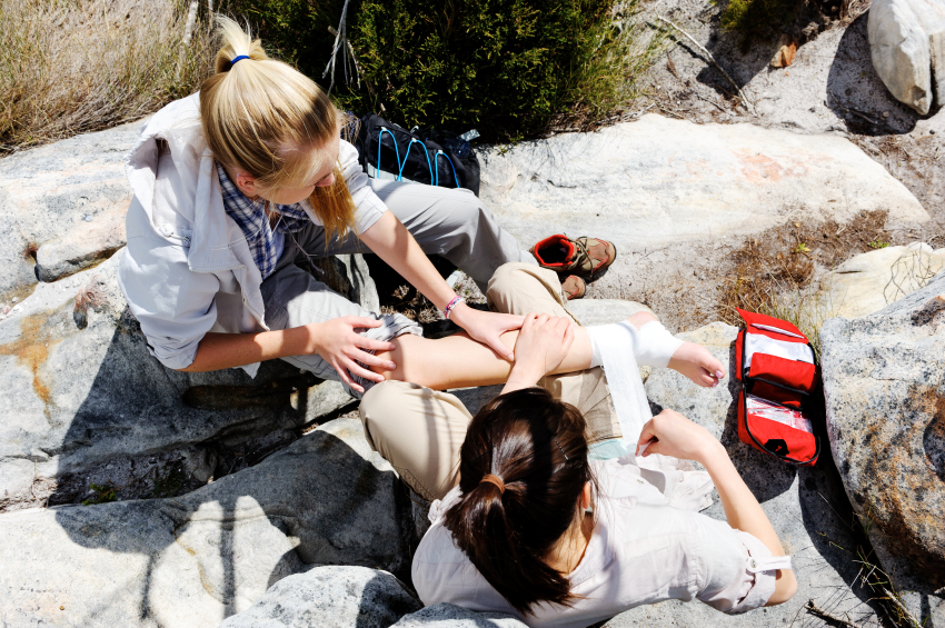 First Aid During Hiking
