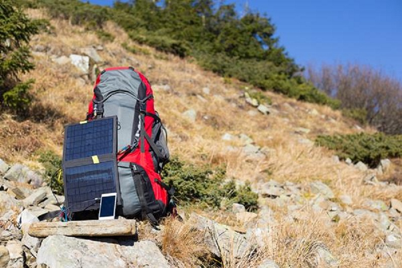 portable solar charger for backpacking
